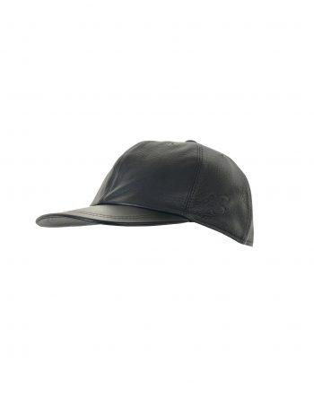 Base Cap kanadischer Wildhirsch schwarz