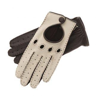 Röckl Damen Autofahrerhandschuhe weiß