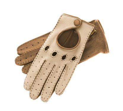 Röckl Damen Autofahrerhandschuhe creme