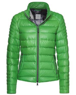 Heinz Bauer Cabriojacke Damen- Sky Walk Lammnappa soft grün